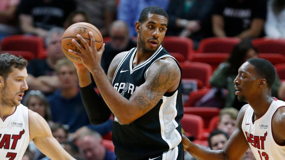Lamarcus Aldridge Drafted By Team Lebron At 2018 Nba All Star Game Kabb