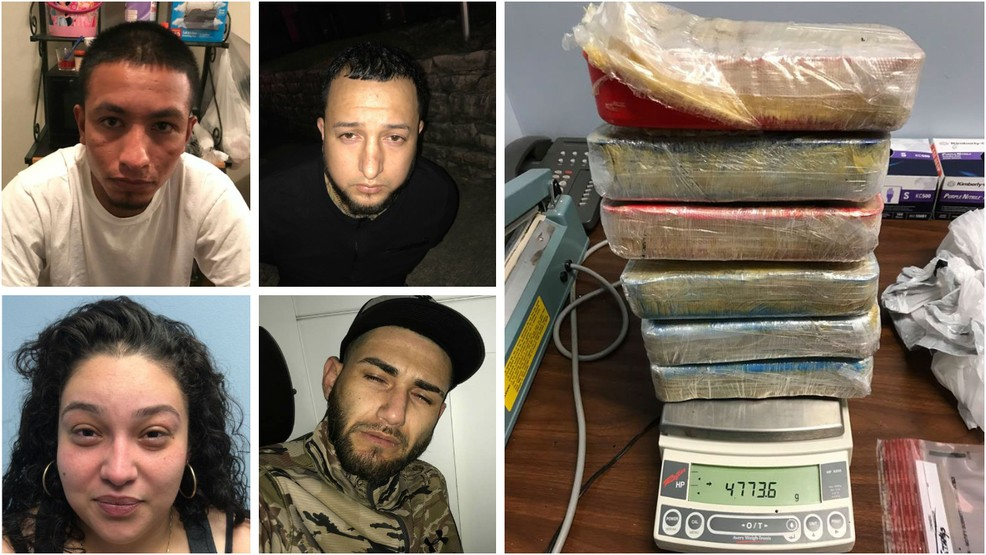 Four arrested after feds seize more than $1M worth of meth | KABB