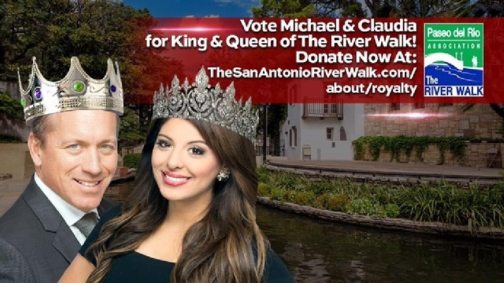 Vote for King & Queen of the San Antonio River Walk! | KABB