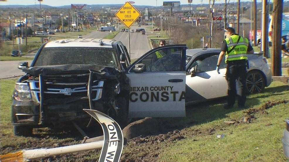 86-year-old man dead after Bexar County Constable SUV crashes into