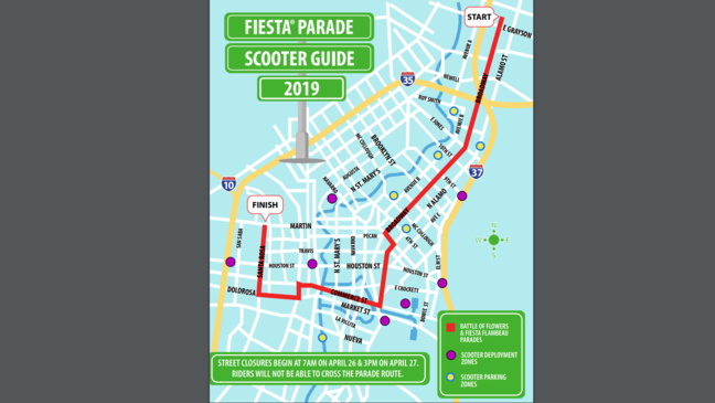 CLOSED: Several downtown streets closed ahead of Fiesta ...