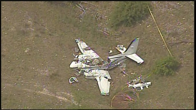 Six people dead after small plane crashes in Kerrville   KABB