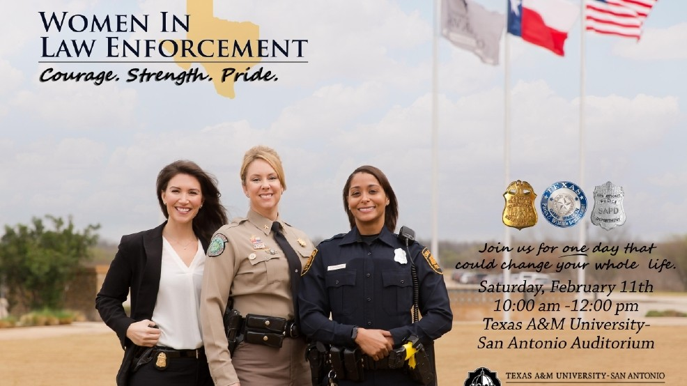 Young women encouraged to pursue careers in law enforcement