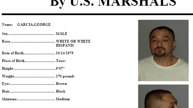 Marshal's Most Wanted: George Garcia | KABB