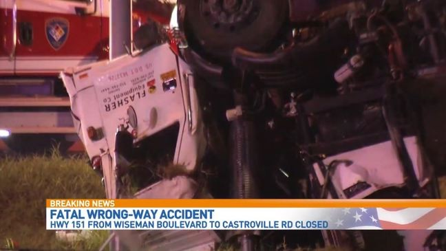 Woman killed after wrong-way driver causes deadly accident